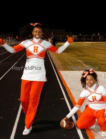 Cheerleaders Washington & Lee 11/19/10