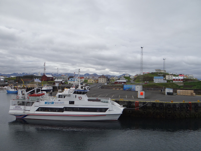 Harbor, on the way to Flatey Island