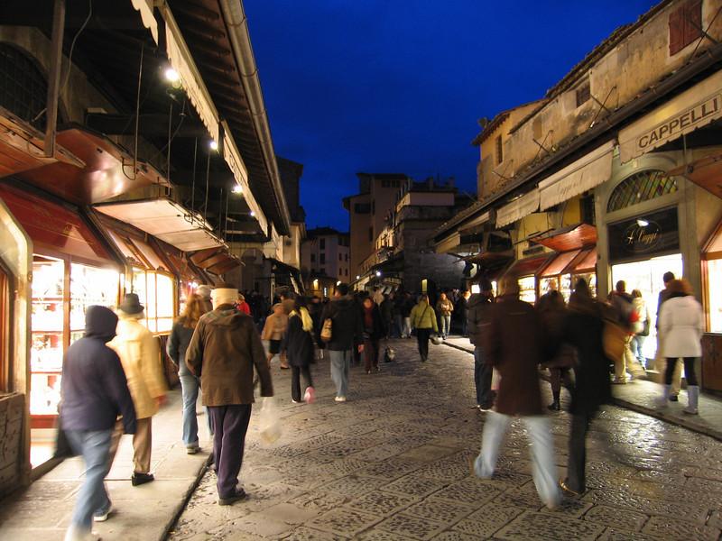 shop on Ponte Vecchio