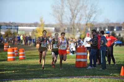 2.0 Mile Mark D1 BOYS - 2016 MHSAA LP XC FINALS