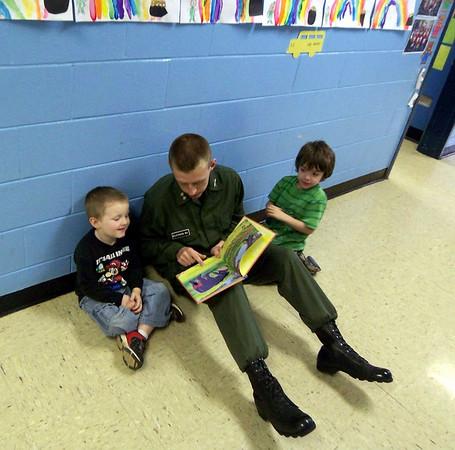 Rachel's Challenge Cadets Visit Cunningham Elementary School