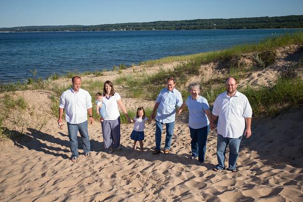 Petoskey State Park family photography Northern Michigan