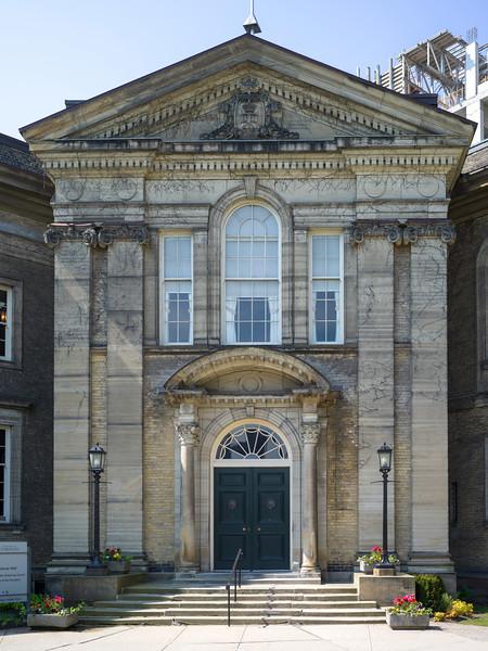 Facade of historical building, Toronto, Ontario, Canada