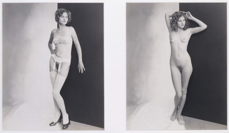"Albert Arthur Allen, ""Diptych of Model C, from the series Sex Appeal"" (ca. 1925)"