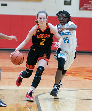 Batavia girls basketball vs Willowbrook