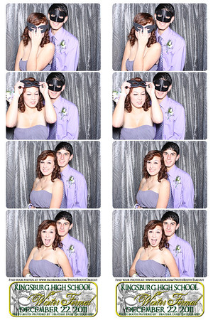 KHS Winter Masquerade Ball December 22, 2011- The Photo Booth Strips