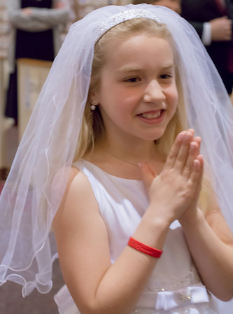 Maddie's First Communion May 2014