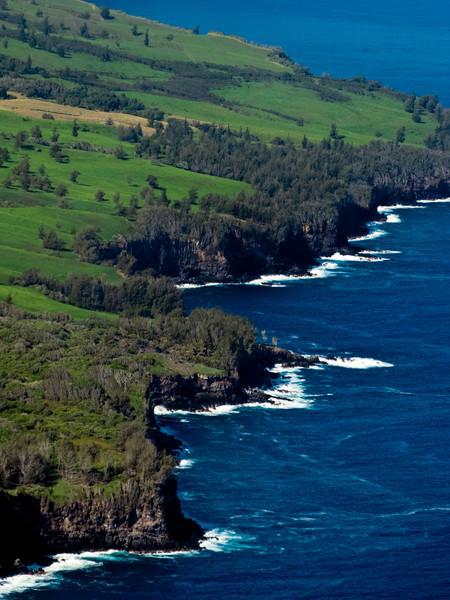 The Waipio coast north of Hilo.