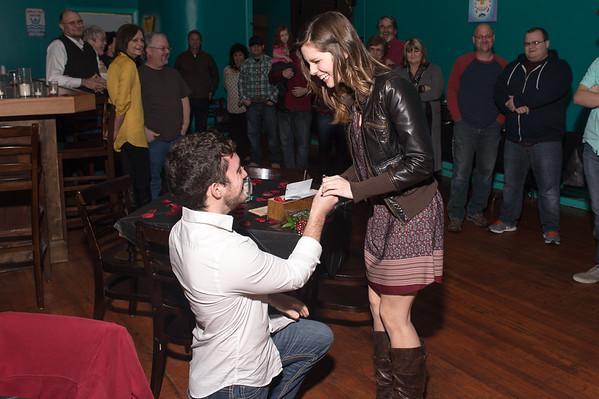 Corey and Hannah