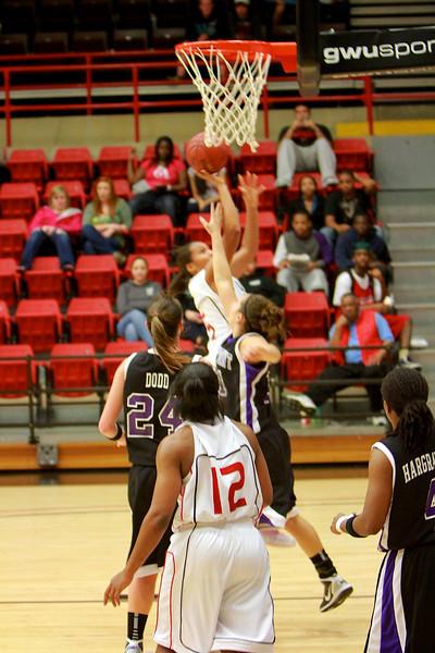 Women's Basketball vs High Point; February 21, 2011.