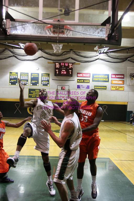 2011 KISHWAUKEE COLLEGE MENS BASKETBALL vs HIGHLAND
