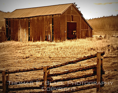 Barns & Beyond ~ Old barns on West Coast, New England, South and Southwest.