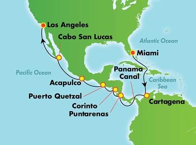 NCL Panama Canal Cruise 2019