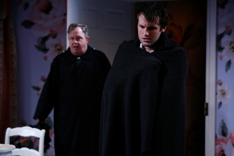 John O'Creagh and Graham Outerbridge in IS LIFE WORTH LIVING? by Lennox Robinson  Photo: Richard Termine