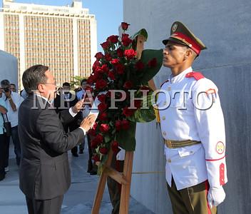 Ерөнхийлөгч Ц.Элбэгдоржийн Бүгд Найрамдах Куба улсад албан ёсны айлчлал хийж байна