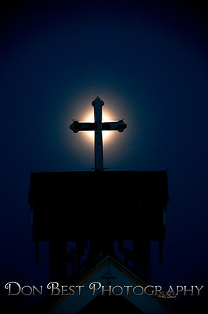 The Light on the Cross