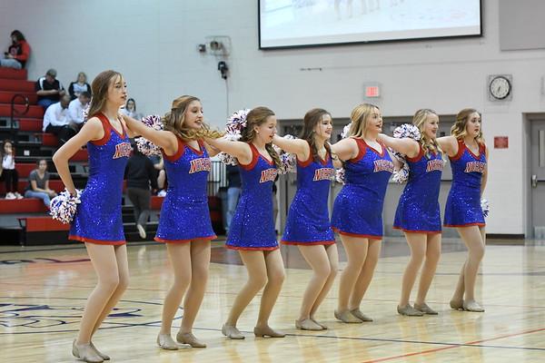 Dance Team - Northwest Boys Basketball game