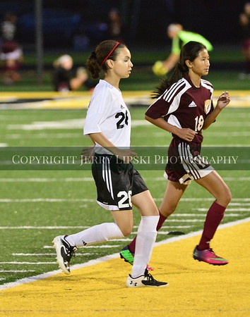 Lady Panther Soccer vs. Chesterton 10/2/2014
