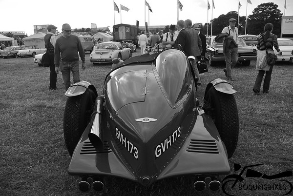 Goodwood revival Carpark