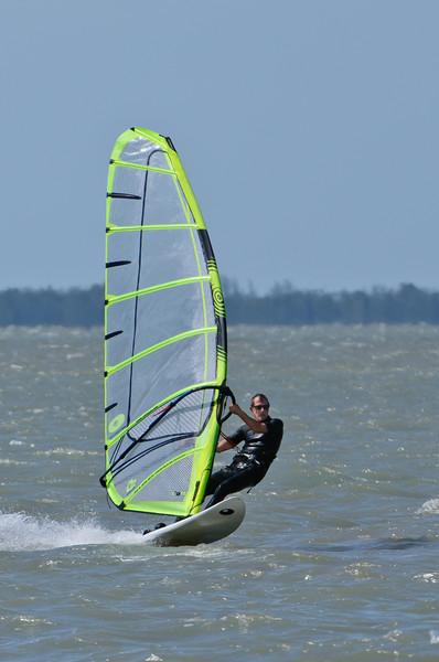 Wind Surfing off Sanibel