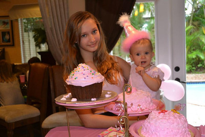 Jolie's First Birthday 9/29/12