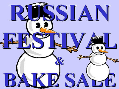 Russian Festival - Bake Sale