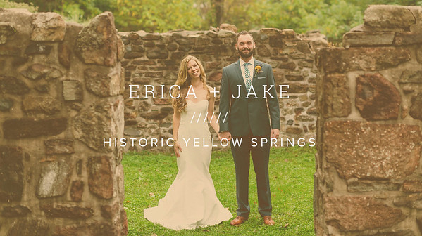 ERICA + JAKE ////// HISTORIC YELLOW SPRINGS