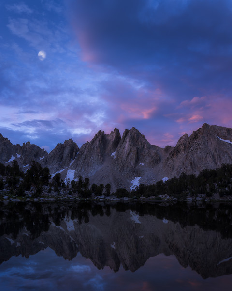 Pinnacles Reflected