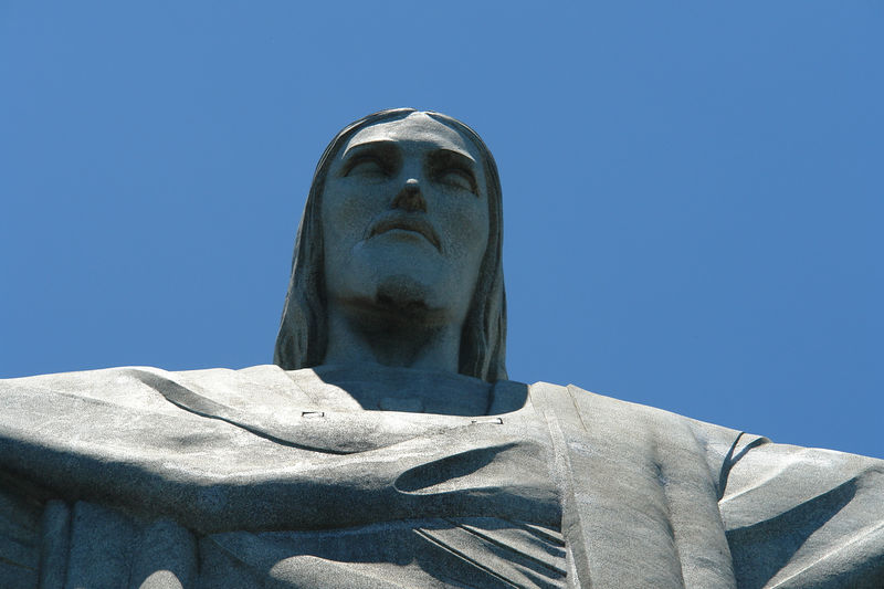 Cristo Redentor, the famous Christ the Redeemer statue at the top of the Corcovado mountain.