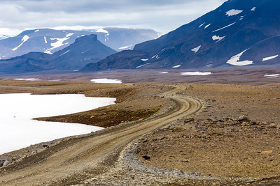 Inland Road, Iceland