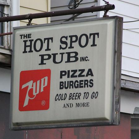 The Hot Spot sign, Center Street, SR309, Tamaqua (6-29-2013)