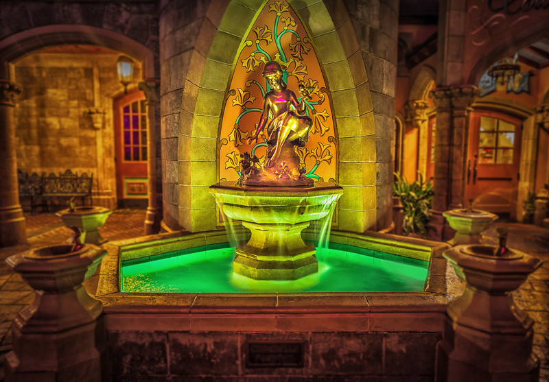Cinderella's Fountain