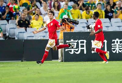 2013 FIFA Asian Qualifier Australia v Oman ANZ Stadium