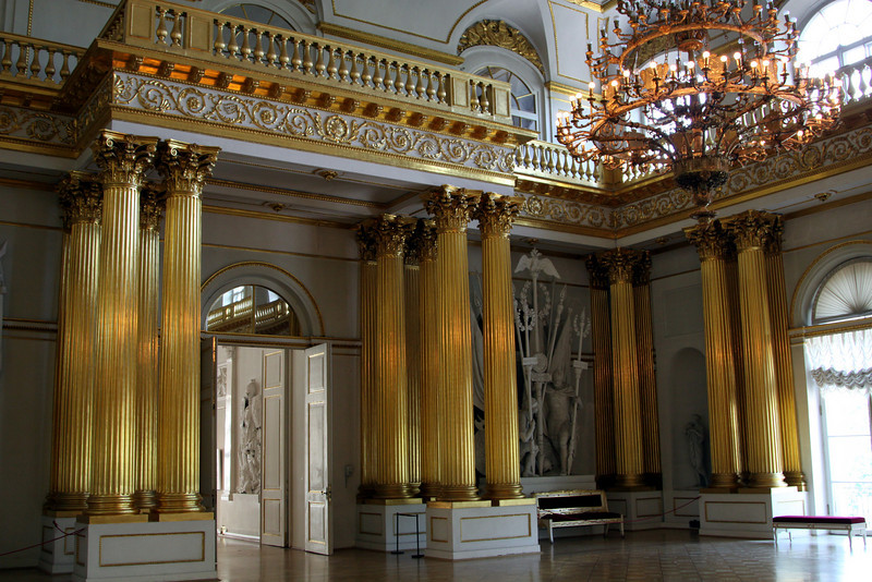 Hermitage Interior - Armorial Hall (used for official ceremonies)