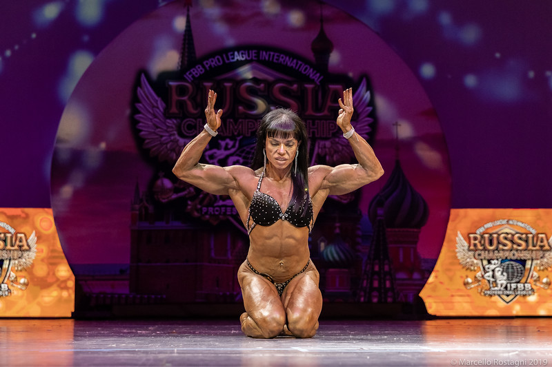 Women's Physique Masters 35+