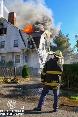 Structure Fire - 24 Summit Ave, Mount Vernon, NY - 10.30.18