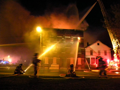 Holyoke, MA 2nd alarm 620 South East St. 4/29/10