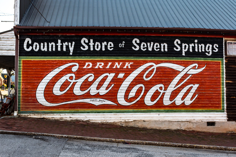 GA, Powder Springs - Coca-Cola Wall Sign 02