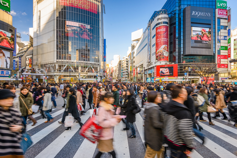 Shibuya Crossing. Editorial credit: Sean Pavone / Shutterstock.com