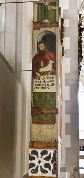 Nördlingen. St. Georg: ursprgl. Hochaltarschrein, rechte Seite (Friedrich Herlin, 1462)