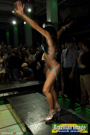 Brazilian Bikini Fashion Show By Camila Oliveira at Temple