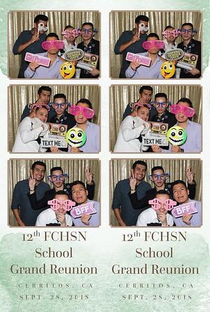 FCHSN Reunion 9-28-18