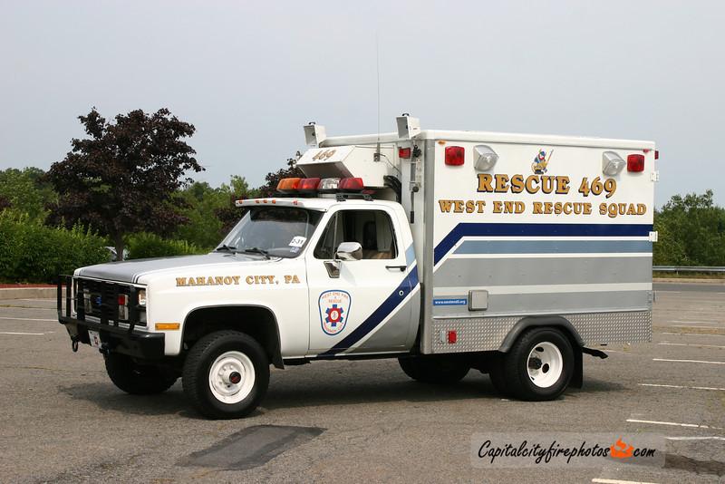 Mahanoy City West End Fire Co. 5) Rescue 469: 1985 Chevrolet/Grumman