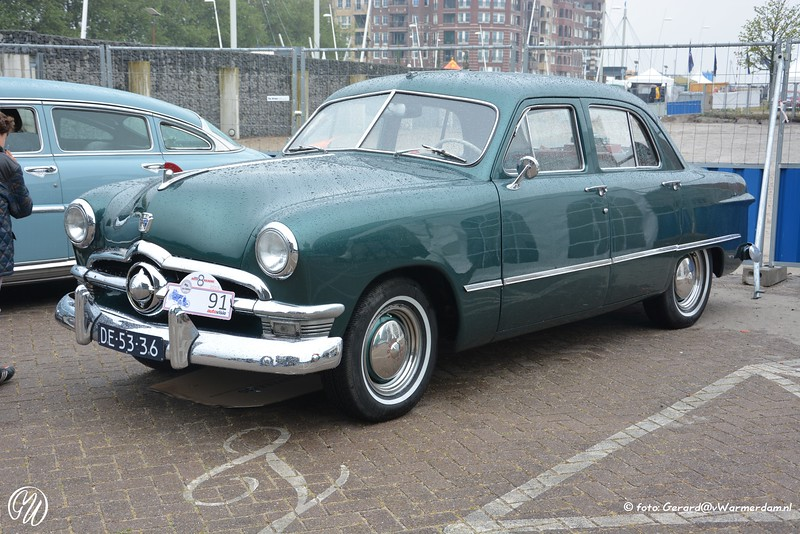 Ford Four Door Sedan, 1950