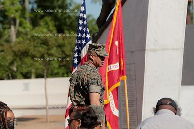Master Gunnery Sergeant J A.Stone 30 years