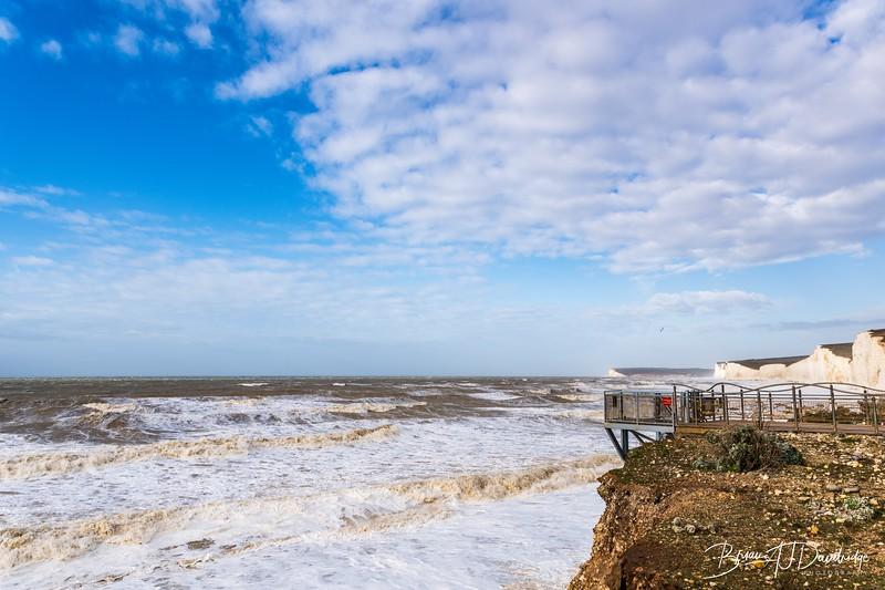 Birling Gap after Storm Ciara