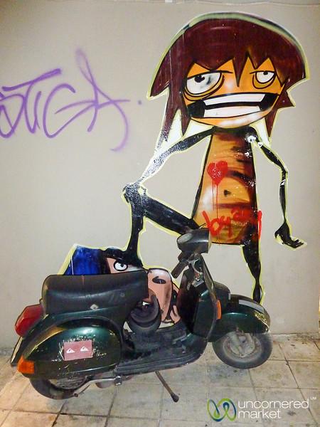 Cretan Graffiti - Chania, Greece