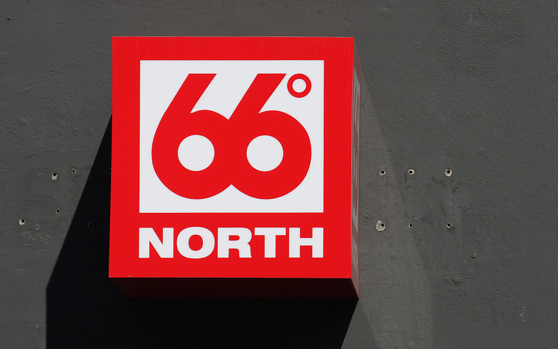 66 Degrees North: Made in Iceland.