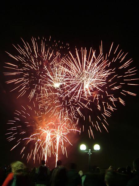 Canary Wharf Fireworks