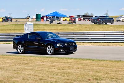 2020 SCCA TNiA July 29th Pitt Race Blk Mustang